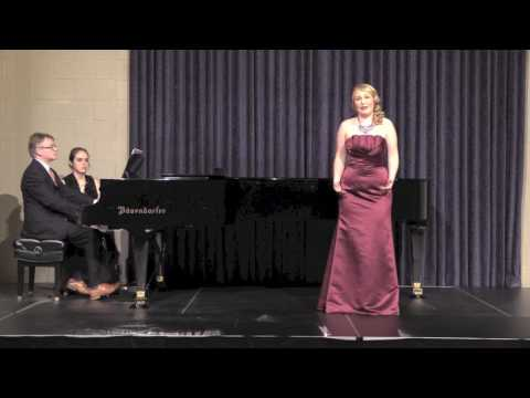 Depuis le jour from Charpentier's Louise (Senior Vocal Recital, Simpson College, Spring 2017)