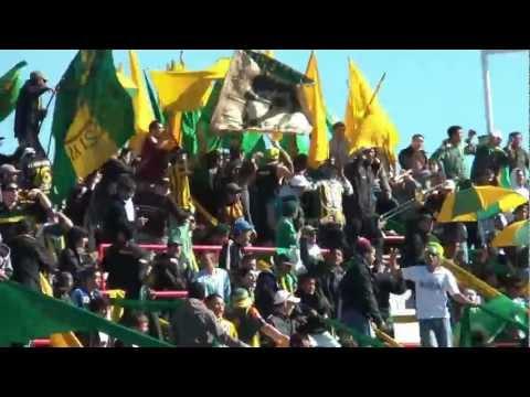 """""""Llega la banda del Verde"""" Barra: La Pesada del Puerto • Club: Aldosivi"""