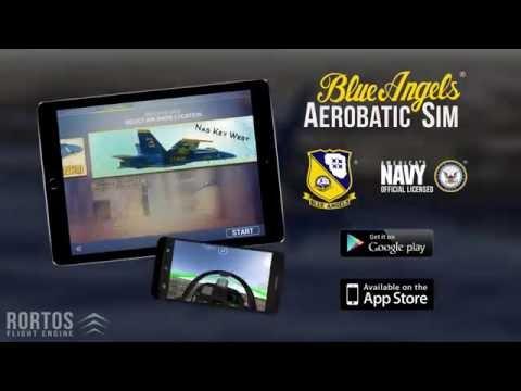 Blue Angels - Aerobatic Flight Simulator - Trailer 2 thumbnail