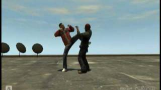 Kung Fu Mod EFLC [PC] -Works for GTAIV too-