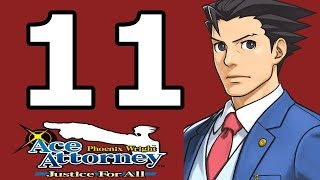 Phoenix Wright Ace Attorney: Justice for All Walkthrough Part 11 - No Commentary Playthrough (3DS)