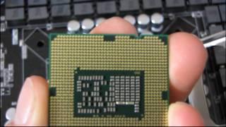 Intel LGA1155/1156 Core i3 i5 i7 CPU Installation Tutorial Guide Walkthrough Linus Tech Tips