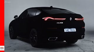 2020 BMW X6 Painted In Blackest Black Vantablack