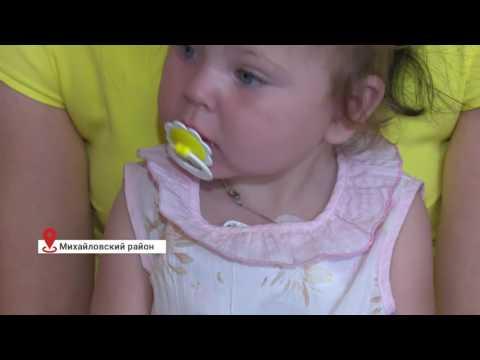Ника Скубиева, полтора года, синдром короткой кишки