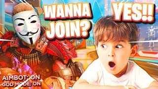 i started a HACKER CLAN in Black Ops 3.. 😂 (kid wants to join!)