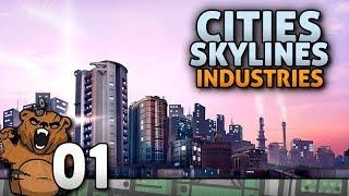 Expansão da Indústria!   Cities Skylines #01 - Industries Gameplay Português PT-BR