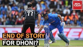 End Of Story For M.S Dhoni After India's Exit From World Cup? : Sachin Tendulkar Reacts
