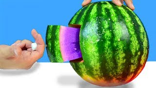 10 SIMPLE LIFE HACKS WITH WATERMELON