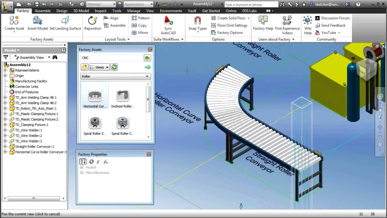 Autodesk factory design suite license cadac group Simple 3d design software