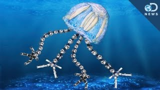 Robot Jellyfish Patrolling the Oceans