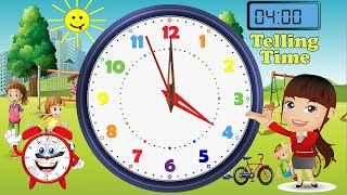 Telling Time Made Easy For Kids Learning The Clock Face