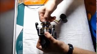 Катушка shimano twin power 4000 xg