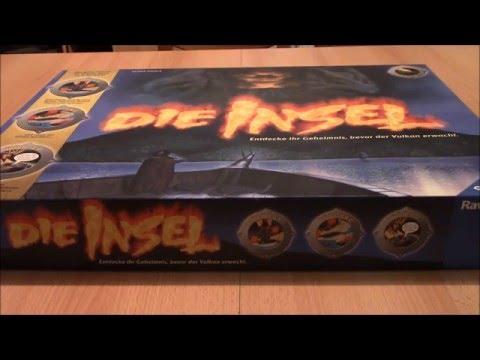 Brettspiel Die Insel - Überblick und Kurzanleitung - Elektronisches Abenteuerspiel - Ravensburger