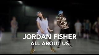 Jordan Fisher - All About Us   WilldaBEAST Adams Choreography