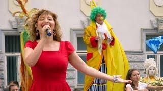 Ольга Скиженок. Открытие курортного сезона 2016 в Евпатории. Желаю тебе земля моя.