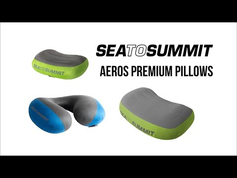 Sea To Summit Aeros Lightweight Premium Inflatable Pillow Instruction Video
