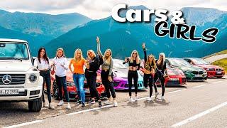 Car-Girls only! Ohne Männer in Sportwagen unterwegs   @Lisa Yasmin @Anica