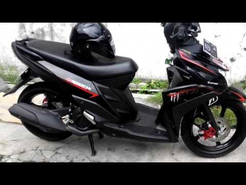 Video Yamaha mio m3 di modifikasi sederhana
