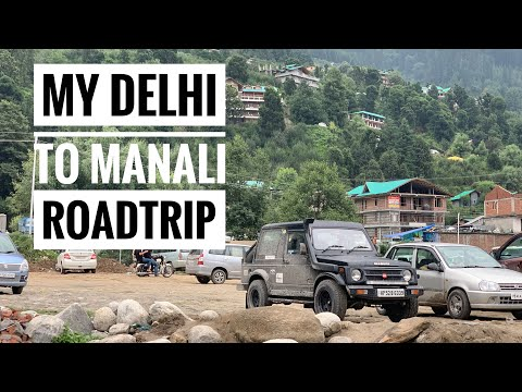 My Delhi To Manali Road Trip !!!