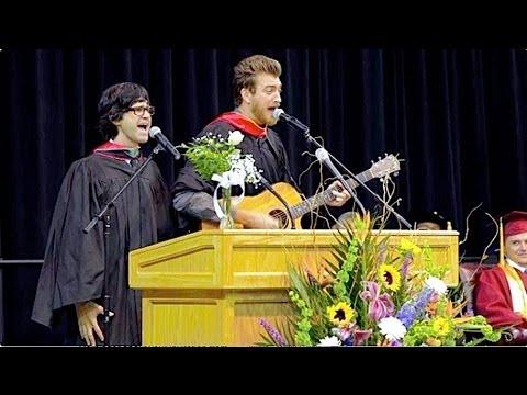 HS Graduation Speech – Rhett & Link