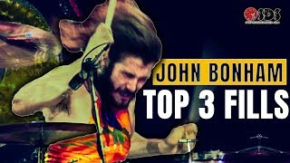 3 John Bonham Drum Fills Every Drummer Should Know | John Bonham Drum Lesson