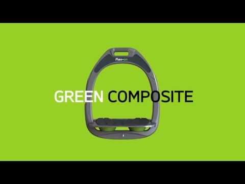 Personnalisable ! Etriers Flex On Green Composite