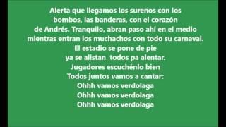 """Video thumbnail of """"Los del Sur - Ohhh vamos verdolaga [LETRA]"""""""