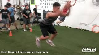 Athlete Seated Plyo Jumps