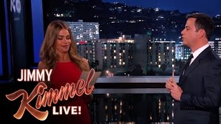 Sofia Vergara and Jimmy Kimmel Read Mean Internet Comments