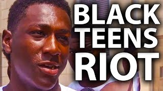 Hundreds Of Black Teens Riot In Philadelphia