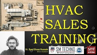 HVAC SALES TRAINING - Mr. Shaaz