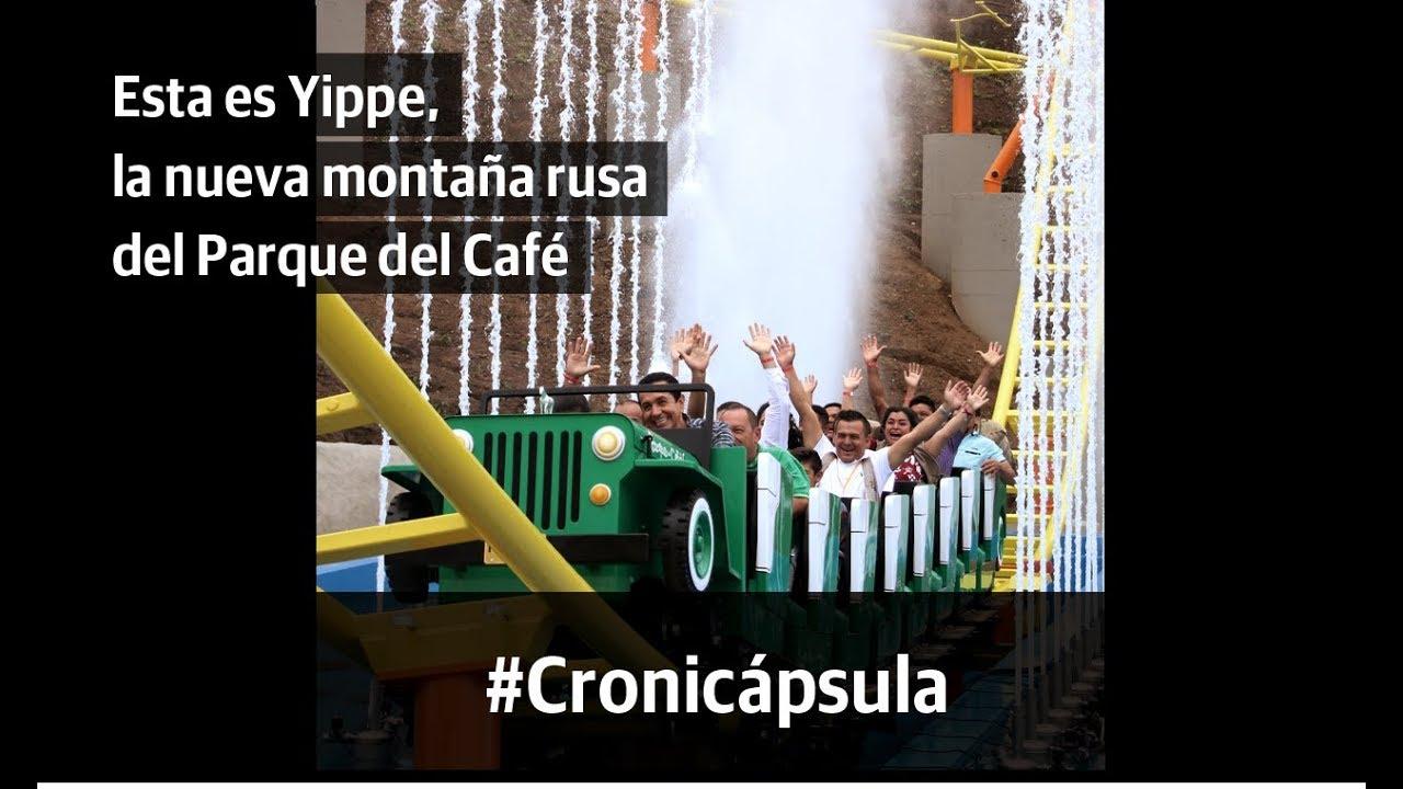 Esta es Yippe, la nueva montaña rusa del Parque del Café
