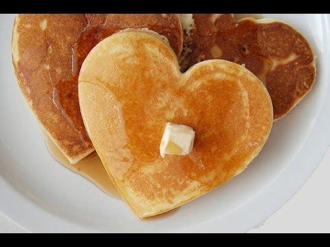 Tortitas con forma de corazon epeciales para tu pareja