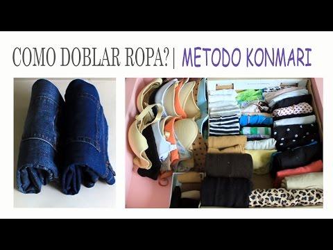 KONMARI METODO DOBLAR TODO TIPO DE ROPA 3 | SUEMYLUCIO