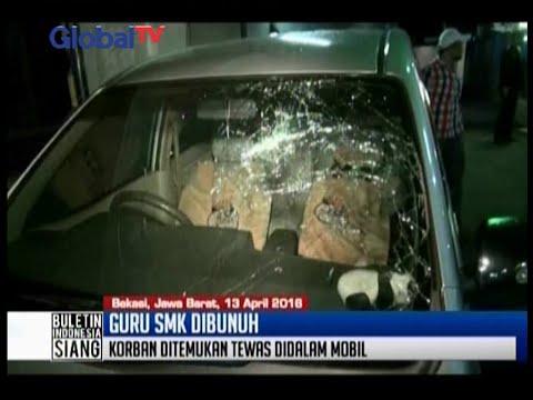 Ditemukan tewas, guru SMK di Bekasi diduga dibunuh sopir pribadi - BIS 14/04