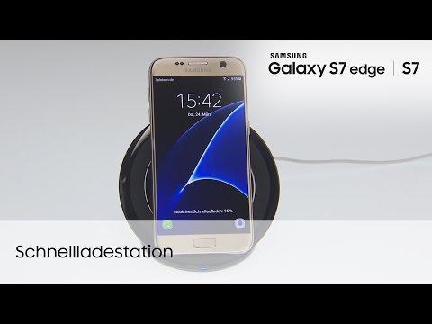 Samsung Galaxy S7 / S7 edge: Induktive Schnellladestation