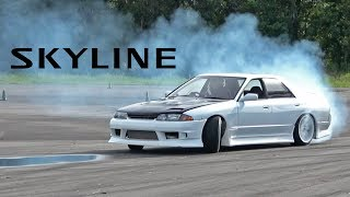My New Skyline's FIRST (and Last) Drift Event