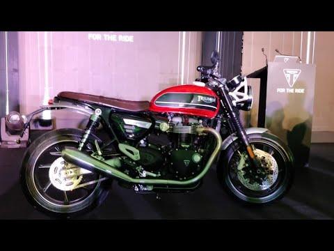 Motoroctane Youtube Video - 2019 Triumph Speed Twin | Hindi Walkaround | MotorOctane