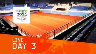 preview picture of video 'Day 3 Live   Nanjing 2014 Youth Olympic Games'