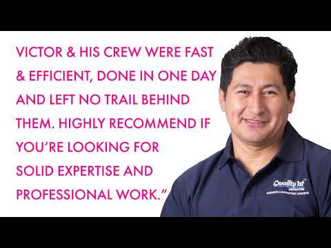 Victor & his crew were fast & efficient....