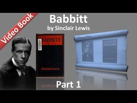Part 1 - Babbitt Audiobook by Sinclair Lewis (Chs 01-05)
