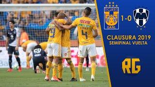 Semifinal Tigres Vs Monterrey 1-0 Liguilla Clausura 2019 MX