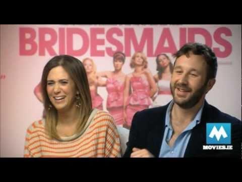 KRISTEN WIIG & CHRIS O'DOWD talk Bridesmaids & Friends With Kids