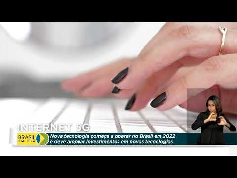 '.Internet 5G começa a operar no Brasil em 2022.'