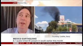 Mexico quake survivor: Good is coming from bad