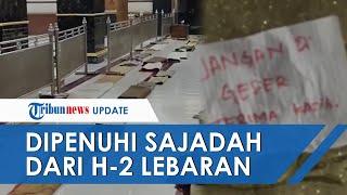 Masjid di Sidrap Viral karena Saf Ibu-ibu Dipenuhi Sajadah dari H-2 Lebaran, Ternyata Sudah Budaya