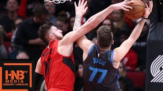 Dallas Mavericks Vs Portland Trail Blazers Full Game Highlights | 12/23/2018 NBA Season