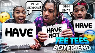 """NEVER HAVE I EVER ft. My 16 Year Old Sister """"Tee Tee"""" & Her Boyfriend!!"""