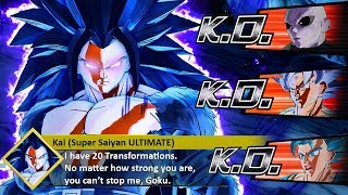 So My STRONGEST CaC Has 20 TRANSFORMATIONS! *NEW* Super Saiyan ULTIMATE! Xenoverse 2 MODS
