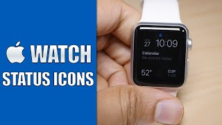 Apple Watch Status indicator icons and what they mean